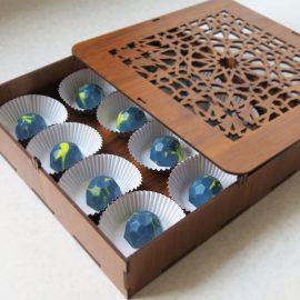 شکلات بن بن سه بعدی