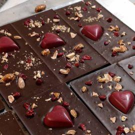 شکلات تخته ای دست ساز